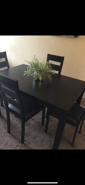 Special Dining Set ( table and 4 Chairs Wood New ) ⭐️👍 for Sale in Chula Vista, CA