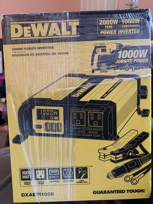 DeWalt power inverter 1000w for Sale in Perris, CA