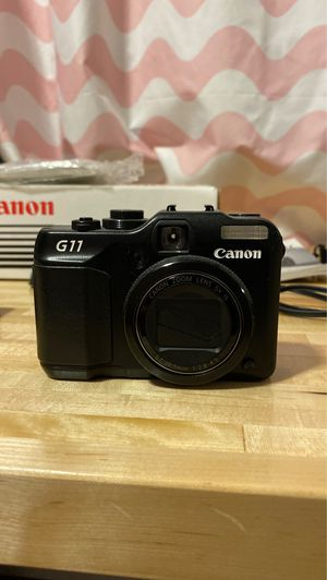 Canon G11 camera and accessories $50 for Sale in Cypress, CA