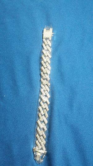Cuban Link Bracelet 8 in for Sale in Las Vegas, NV