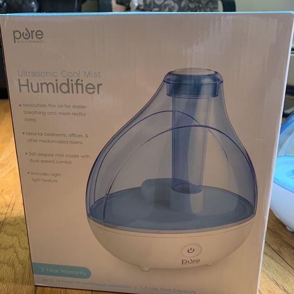 Pure humidifier With Original Box