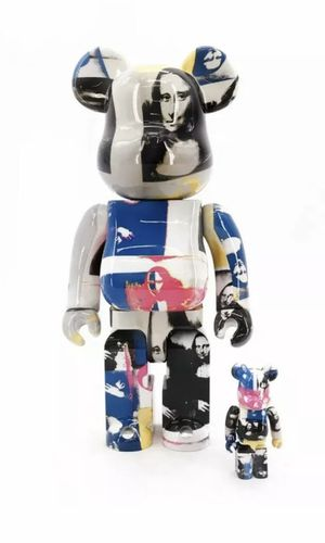 MEDICOM ANDY WARHOL COLORED MONA LISA BEARBRICK 2019 100%+400% PACK for Sale in HUNTINGTN BCH, CA