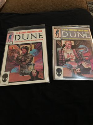 Issue one and number two Dune comic book for Sale in Clarksburg, WV