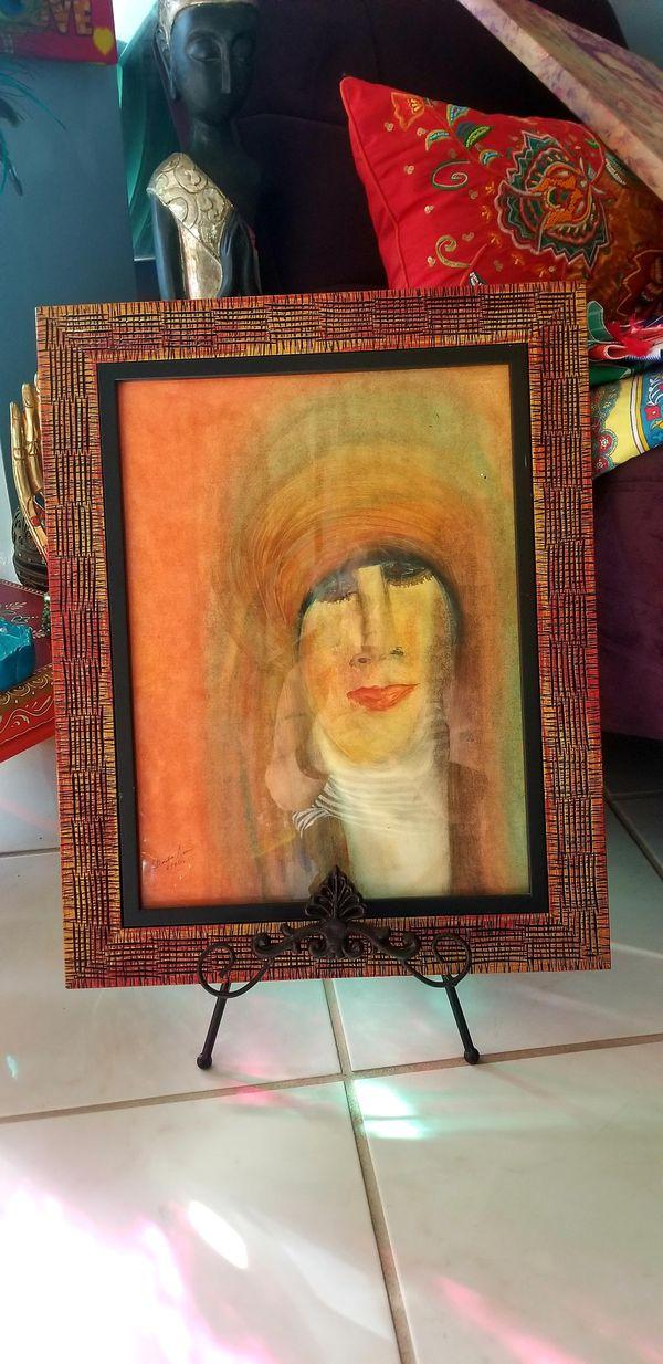 """2×$10 Beautiful Paintings . 19""""5 16.5"""""""
