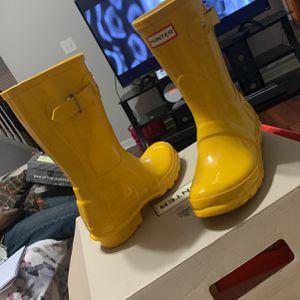 Hunter Yellow Rain Boots for Sale in Loganville, GA