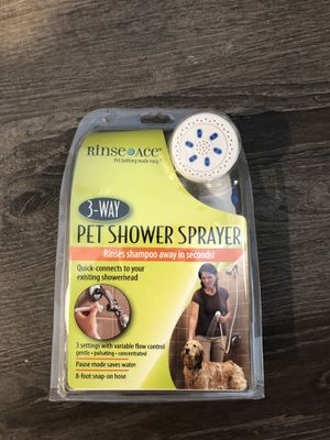 Pet shower sprayer for Sale in Rochester, MN