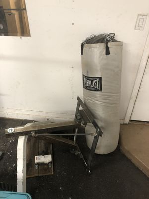 Heavy bag and speed bag for Sale in Mesa, AZ