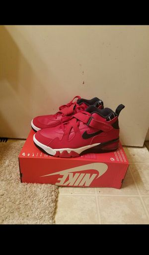 Nike Air Force Max Charles Barkley Leather Red size 12 for Sale in Oakland, CA