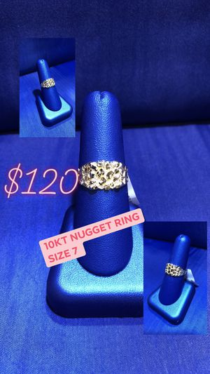 Nugget ring (5%down layaway no interest ) for Sale in Greensboro, NC