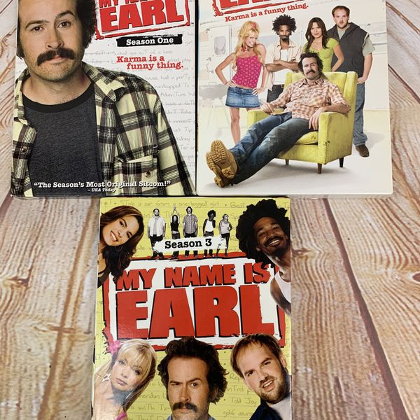 My Name Is Earl DVD Box Sets Complete Seasons 1-3