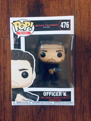 "Funko POP Movies: Blade Runner 2049 ""OFFICER K"" Collectible Vinyl Figurine for Sale in Glendale, CA"