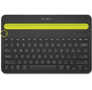 Logitech K480 Wireless Multi-Device Keyboard, Bluetooth, Black for Sale in Meansville, GA