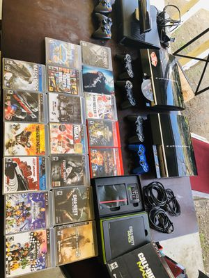 Sony Playstation 3 PS3 with games for Sale in San Marino, CA