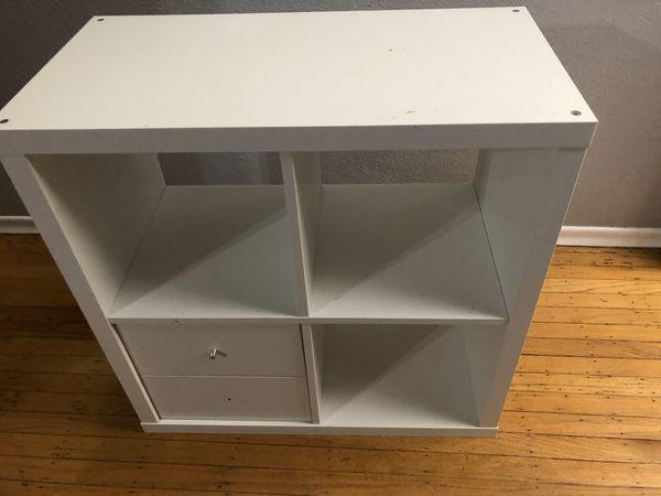 IKEA cube shelf