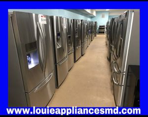 Variety of stainless French door refrigerator $850 and up for Sale in Reisterstown, MD