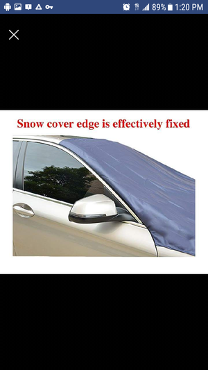 NEW SNOW TIME!!!!Magnetic Edges Windshield Snow Cover - Frost Windshield Cover - Snow, Ice, Frost Guard No More Scraping - Door Flaps Windproof for Sale in Morrisville, PA
