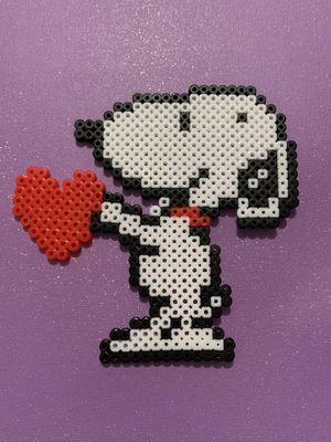 Snoopy perler for Sale in Riverside, CA