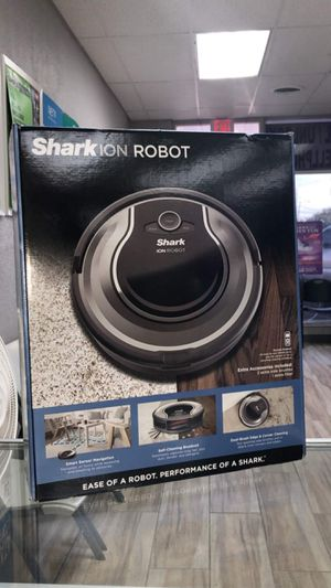 Shark ION Robot self cleaning Vacuum with smart sensor Navigation for Surface Floors & Thin Carpet and Easy Scheduling Remote Brand New in box for Sale in Arlington, TX