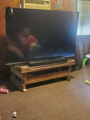 75 inch tv with sound bar for Sale in Hoxie, AR