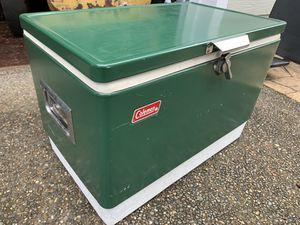 Vintage Coleman steel belted cooler for Sale in Silver Creek, WA