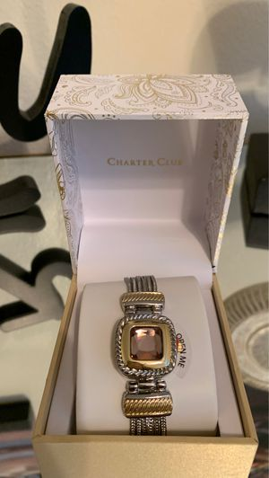 Gold and silver women's watch for Sale in Anaheim, CA