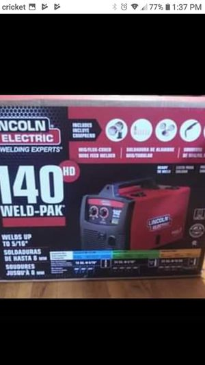 Lincoln 140 HD welder for Sale in Secaucus, NJ
