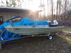 Jon boat for Sale in Walkertown, NC