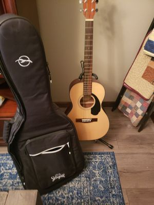 New Fender classic Guitar with stand and case for Sale in Columbia, MO