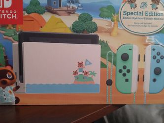 BRAND NEW Nintendo Switch Animal Crossing Special Edition Console for Sale in Miami,  FL
