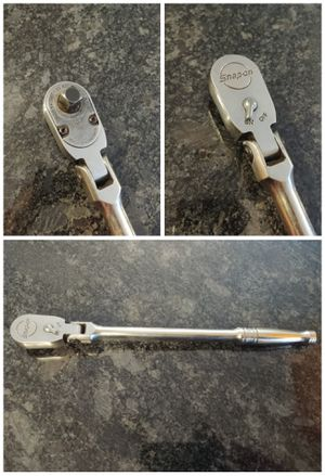 """Snap-on tools 3/8"""" drive long flex head ratchet for Sale in Romeoville, IL"""