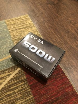 EVGA power supply 600w brand new pick up only $45 for Sale in Sanger, CA