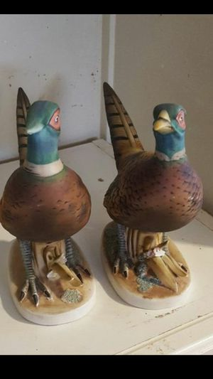 Set of 2 California Quail statues for Sale for sale  Fort Myers, FL