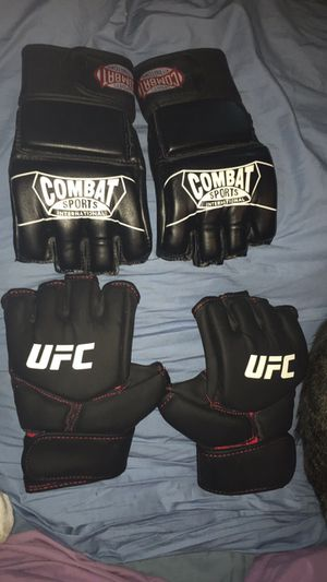 Two never used MMA gloves for Sale in Tulsa, OK