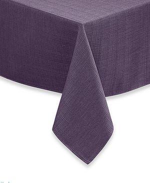 Purple Tablecloth 60x84 for Sale in Tucson, AZ
