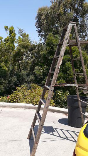 Werner vintage wood ladder for Sale in Bonita, CA