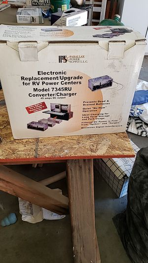 Converter/charger RV POWER CENTER for Sale in Prineville, OR