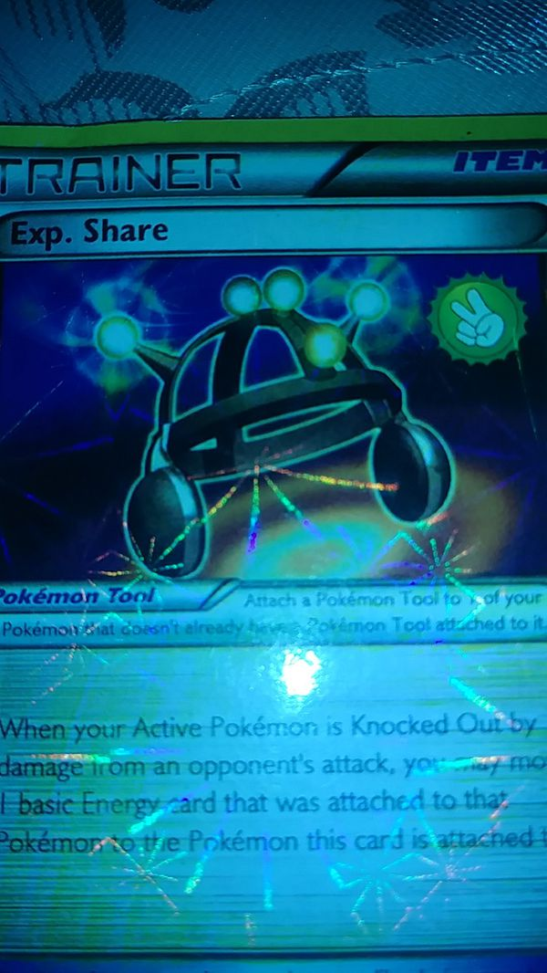 Pokemon card trainer for your collections