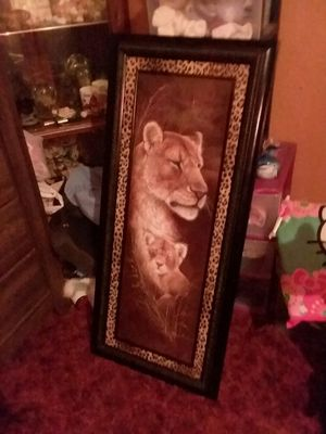Lion picture for Sale in Chippewa Falls, WI