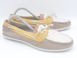 Women's Sperry Angelfish Leather Multi Color Boat Casual Outdoor Shoes US 8 M for Sale in Hayward, CA
