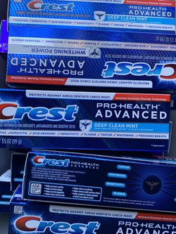 Crest Prohealth Toothpaste 2.00 Each for Sale in Riverdale,  GA