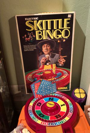 Vintage Game Skittle Bingo Excellent Mint Condition for Sale in Arlington, TX