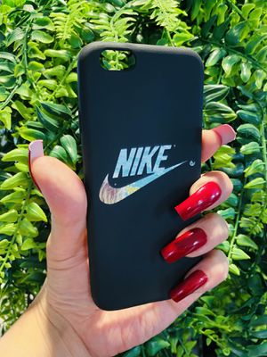 Brand new cool iphone 6, 6s REGULAR case cover rubber silicone Nike colored swoosh mens guys hypebeast hypebae womens girls hype swag for Sale in San Bernardino, CA