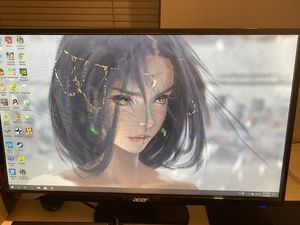 "Acer - S271HL 27"" LED FHD Monitor - Black for Sale in Portland, OR"