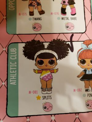 Lol hairgoals splits doll wave 2 for Sale in River Grove, IL