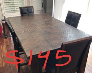 Solid wood high table and chairs for Sale in Westminster, CA