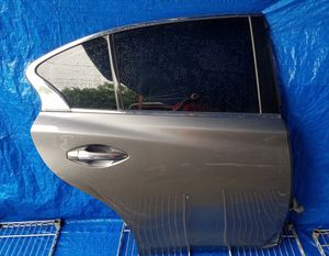 2014 - 2019 INFINITI Q50 REAR RIGHT PASSENGER SIDE DOOR ASSEMBLY GRAY (KAD for Sale in Fort Lauderdale, FL