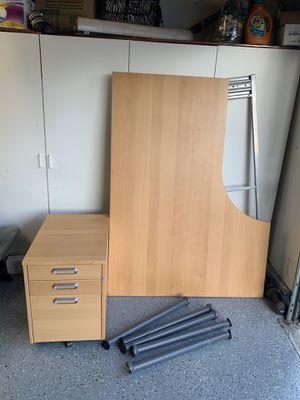 Office Desk & Cabinet for Sale in Rancho Santa Margarita, CA