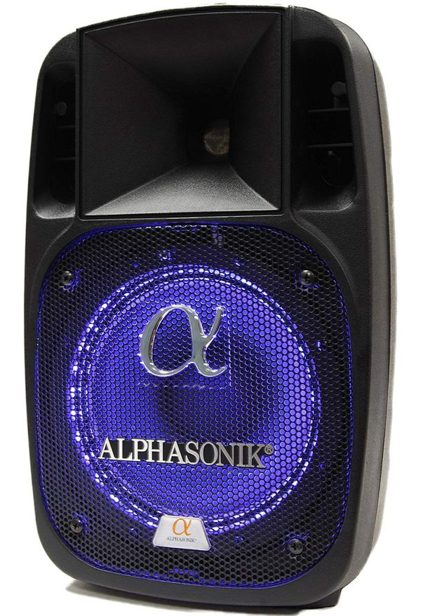 "Alphasonik 12"" Powered 2000W PRO DJ Amplified Bluetooth Speaker"