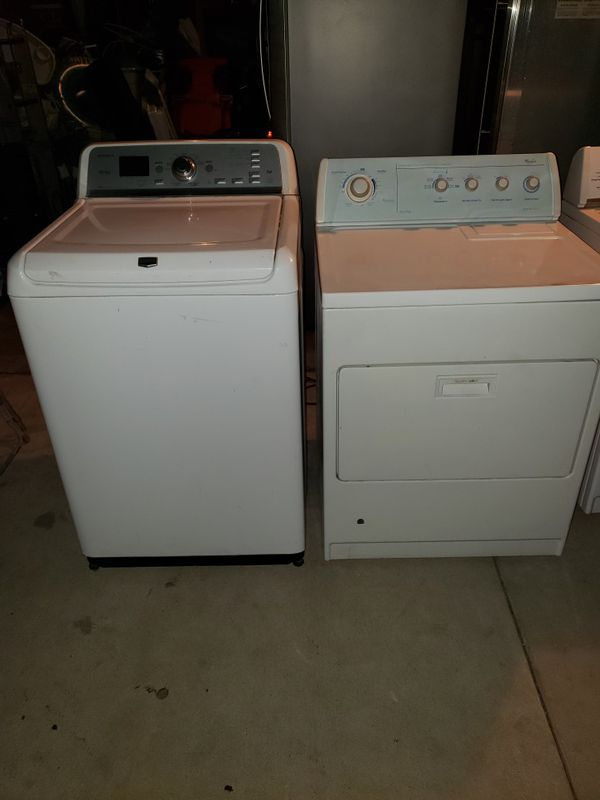 Washer and gas dryer working angry conditions