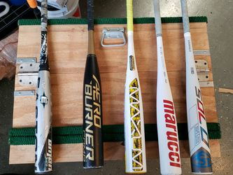 Baseball Bats Louisville 619 Solo, Marucci Cat 7, Maxum. Adidas Aeroburner, Easton Omen for Sale in San Diego,  CA